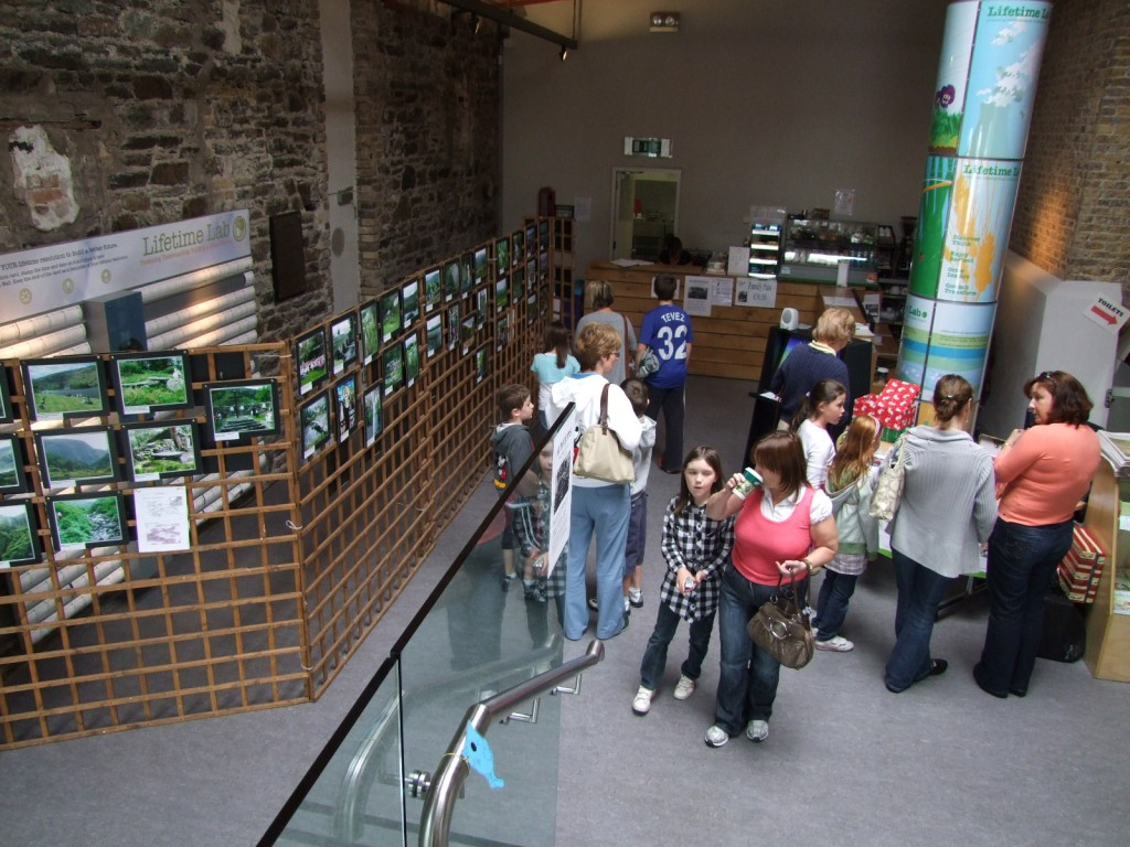 Photo exhibition at the Lifetime lab, September 2009