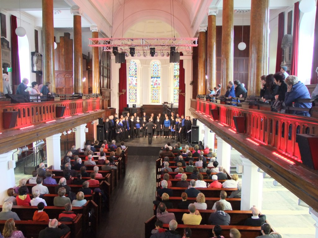 One of the concerts of the Cork International Choral Festival at Christ Church, Cork, 4 May 2012