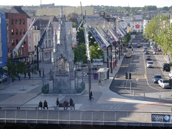 Grand Parade from old tax office, Sullivan's Quay, Cork