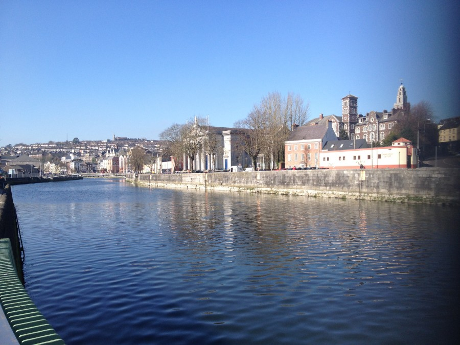 Pope's Quay on a sunny day,  present day