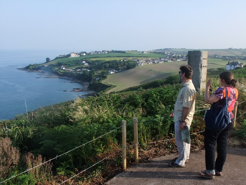 Views into Cork Harbour from Camden Fort Meagher, Crosshaven, 4 August 2014