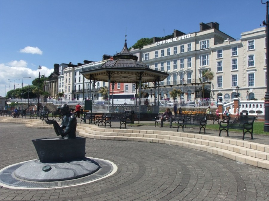 Cobh Park from Cork Harbour Through Time, 2014