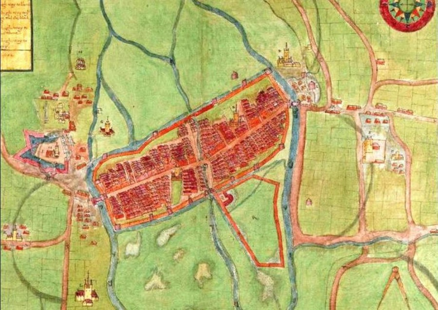 A description of the Cittie of Cork Plan of Cork, circa 1602 by George Carew, part of Kieran's Our City, Our Town, Cork Independent series, March 2016