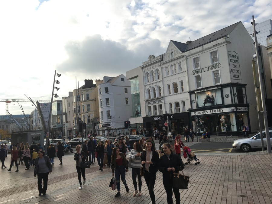 St Patrick's Street, October 2016