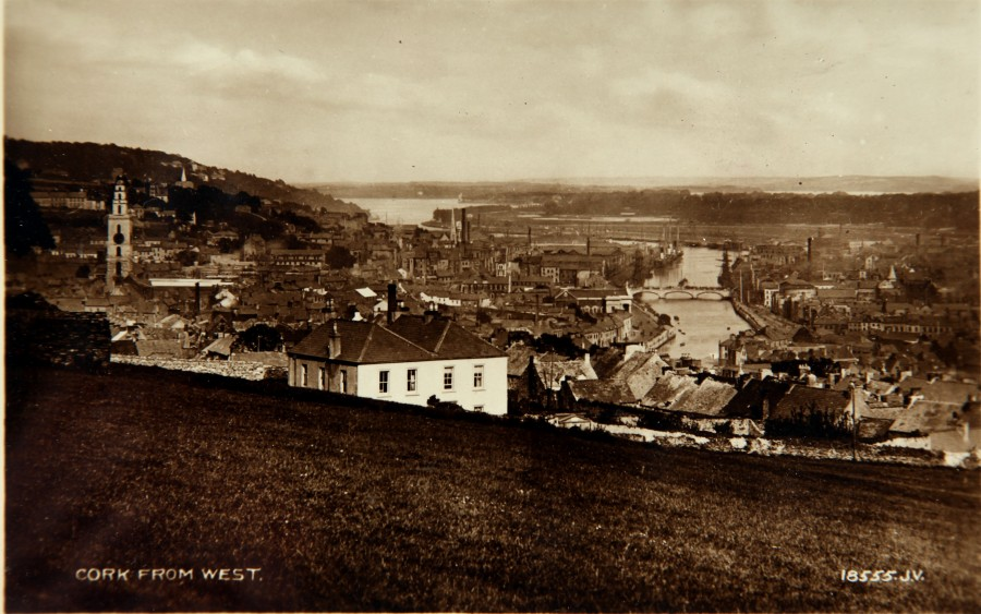 Postcard View of Cork from the West, c.1900