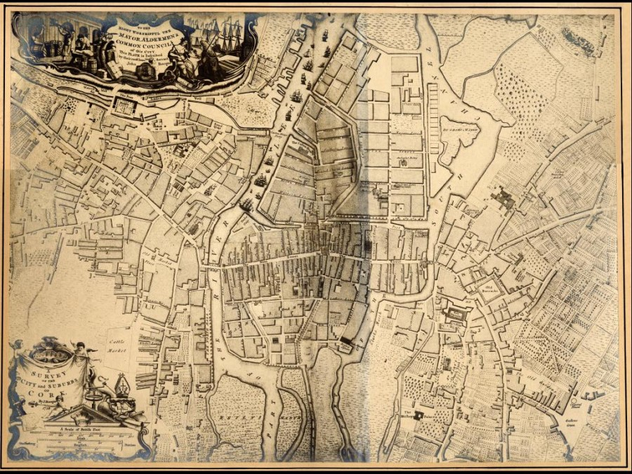 Copy of John Rocque  Map of Cork 1759