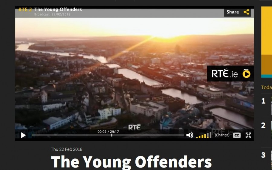 1. View from Shandon, Young Offenders TV show, February 2018