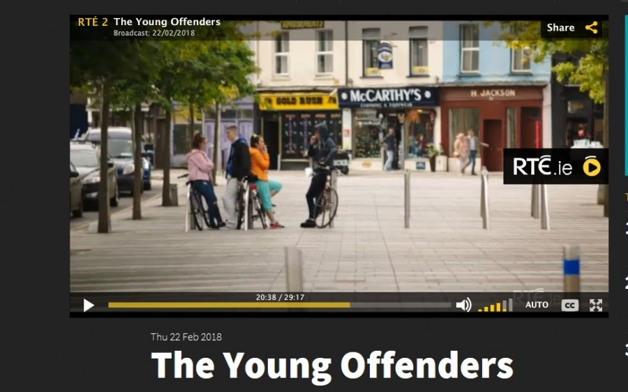 10. Corn Market Street,Young Offenders TV show, February 2018