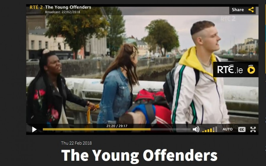 11. Pope's Quay, Young Offenders TV show, February 2018