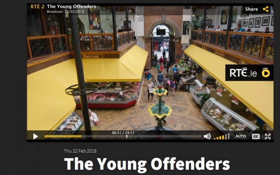 2. English Market, Young Offenders TV show, February 2018