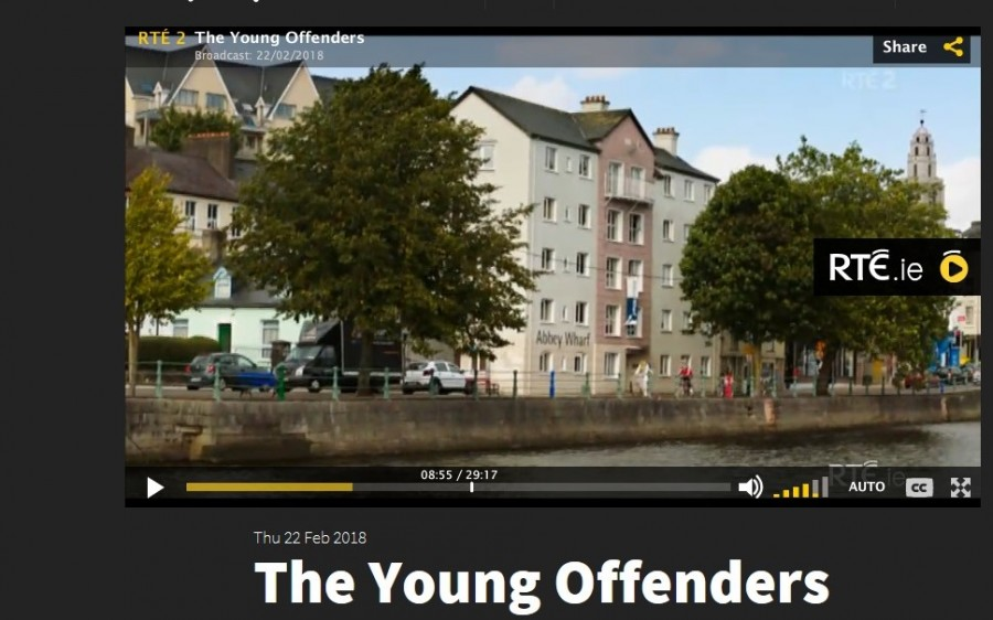 3. North Mall, Young Offenders TV show, February 2018