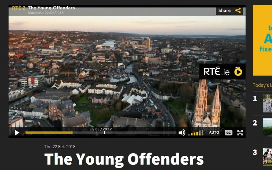 6. St Finbare's Cathedral, Young Offenders TV show, February 2018
