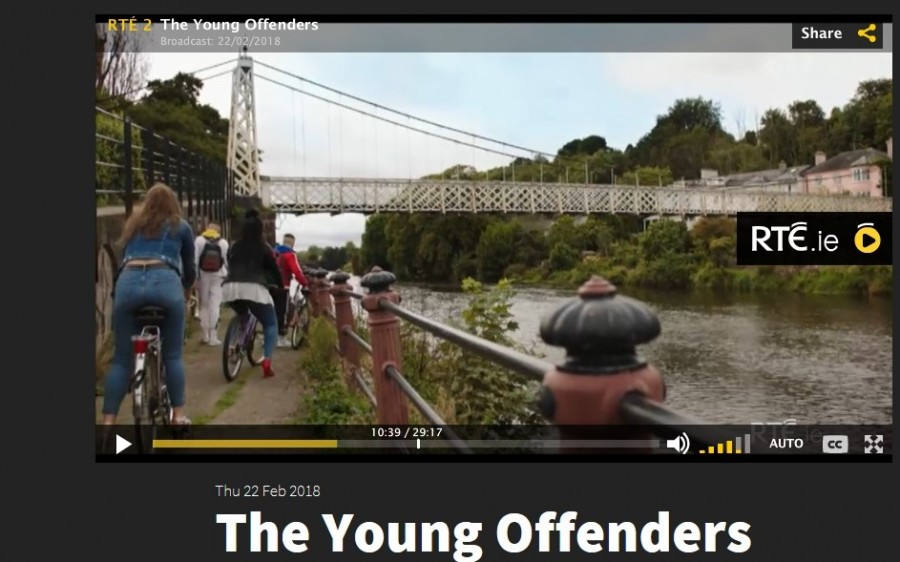 7. Daly's Bridge, Young Offenders TV show, February 2018