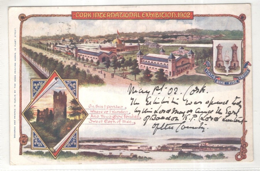 Cork International Exhibition 1902-03, source: Cork City Museum