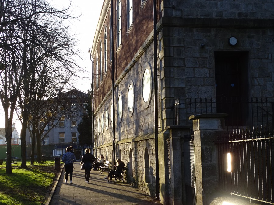 Christ Church Lane in Bishop Lucey Park
