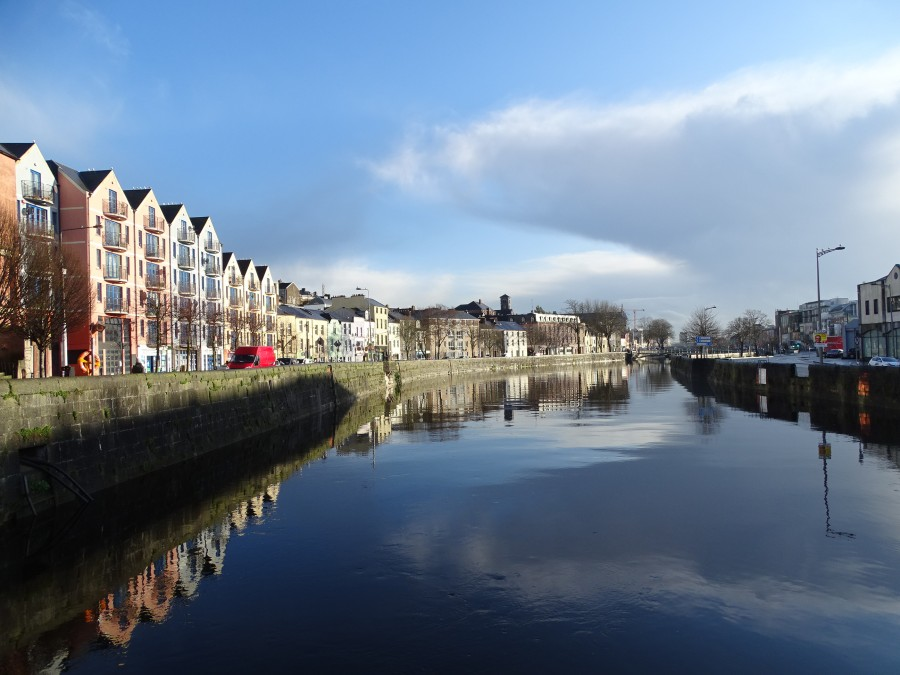 North Channel of the River Lee, Cork, February 2020  (picture: Kieran McCarthy)