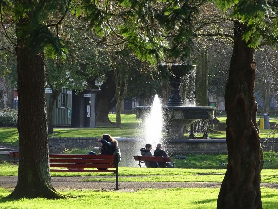 Fitzgerald's Park, Cork, 16 March 2020  (picture: Kieran McCarthy)
