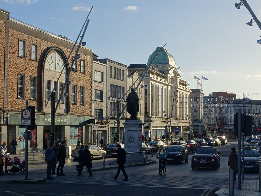 St Patrick's Street, Cork, present day, (picture: Cllr Kieran McCarthy)