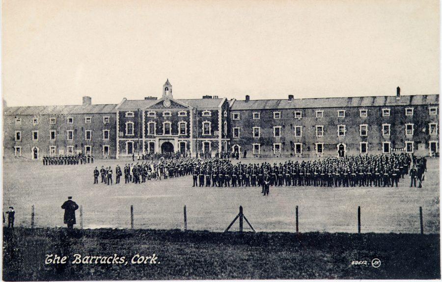 The Barracks, Cork, c.1900 (source: Cork City Through Time by Kieran McCarthy and Dan Breen)