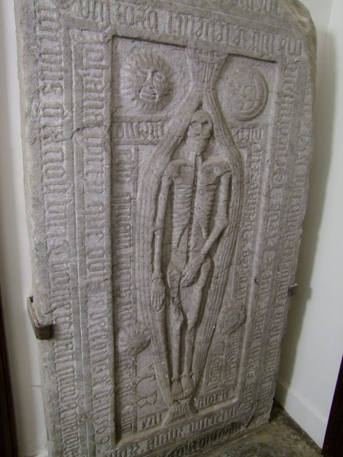 """Former Mayor of Cork, Thomas Ronan, depicted on a Christ Church tomb; also known as the """"modest man"""", present day (picture: Kieran McCarthy)"""