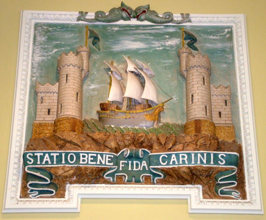 Cork Coat of Arms, Custom House, Cork (picture: Kieran McCarthy)