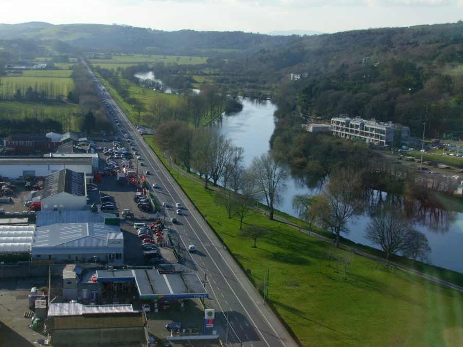View of Lee Fields, Cork from Cork County Hall, present day (picture: Kieran McCarthy)
