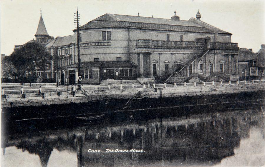 Cork Athenaeum, c.1900 (source: Cork City Library)
