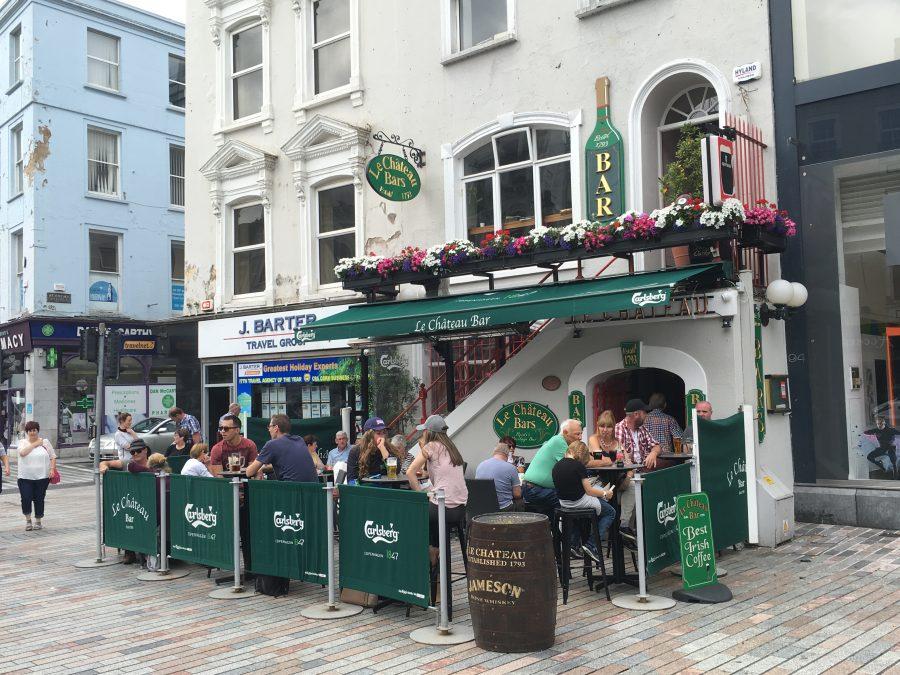Chateau Bar, St Patrick's Street, Cork, present day (picture: Cllr Kieran McCarthy)