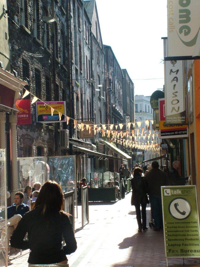 French Church Street, present day (picture: Cllr Kieran McCarthy)