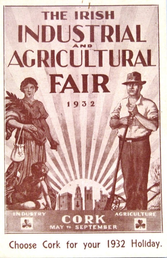 Advertisement for Cork Industrial and Agricultural Fair, 1932 (source: Boole Library, UCC)