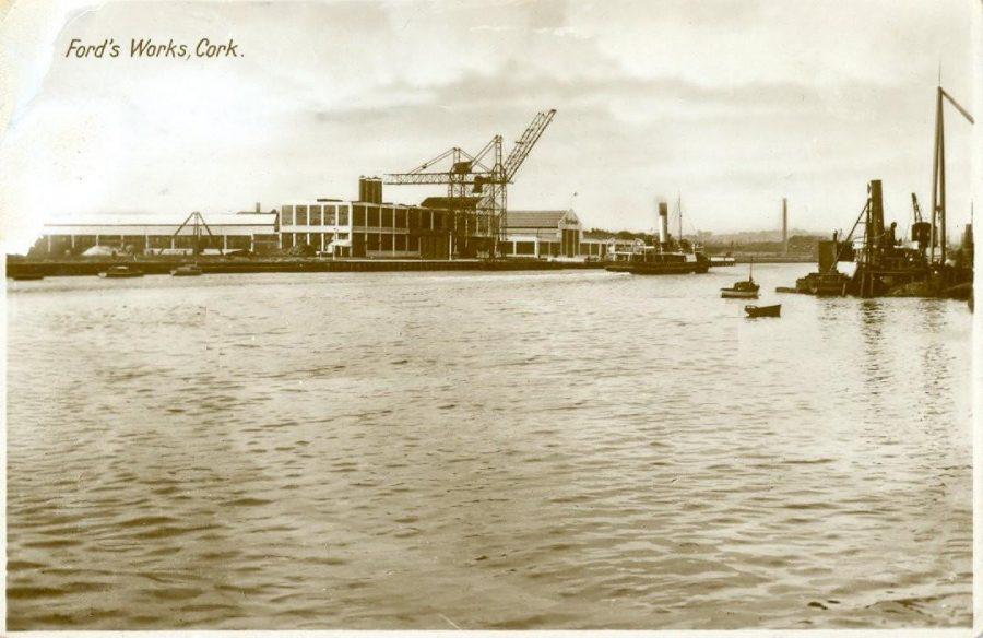 Ford Works, Cork, c.19230 (source: Kieran McCarthy collection)