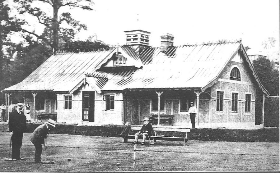 Sunday's Well Boating and Tennis Club, c.1900