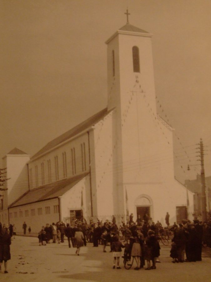 Church of the Annunciation, Blackpool, 1940s (picture: Cork City Library)