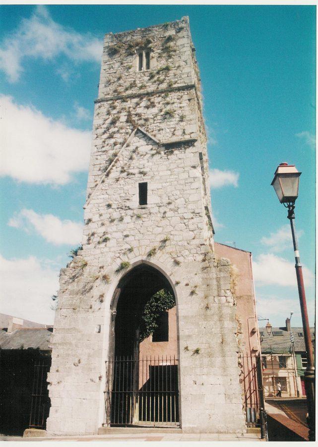 Red Abbey Tower, present day (Cllr Kieran McCarthy)