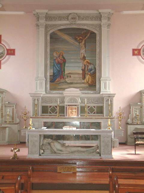 Altar of South Chapel, Cork, present day (Cllr Kieran McCarthy)