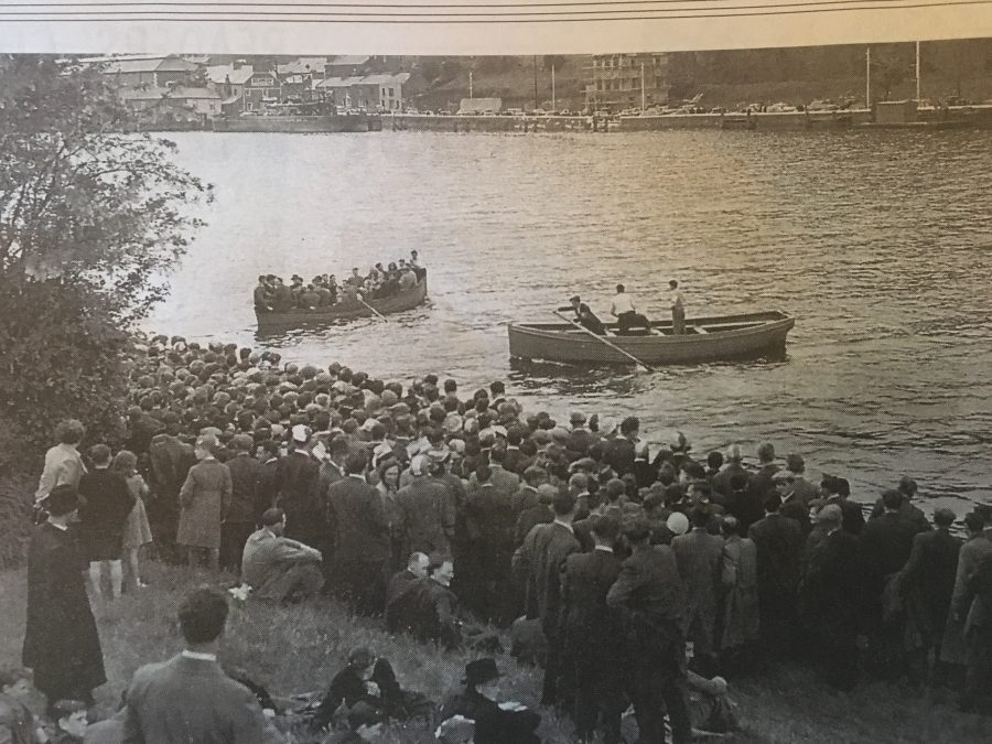 The O'Shea Ferry Boats, 1 November 1959 (source:  Irish Examiner)