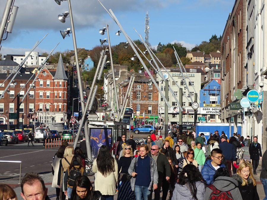 St Patrick's Street, Cork, present day (picture: Cllr Kieran McCarthy)
