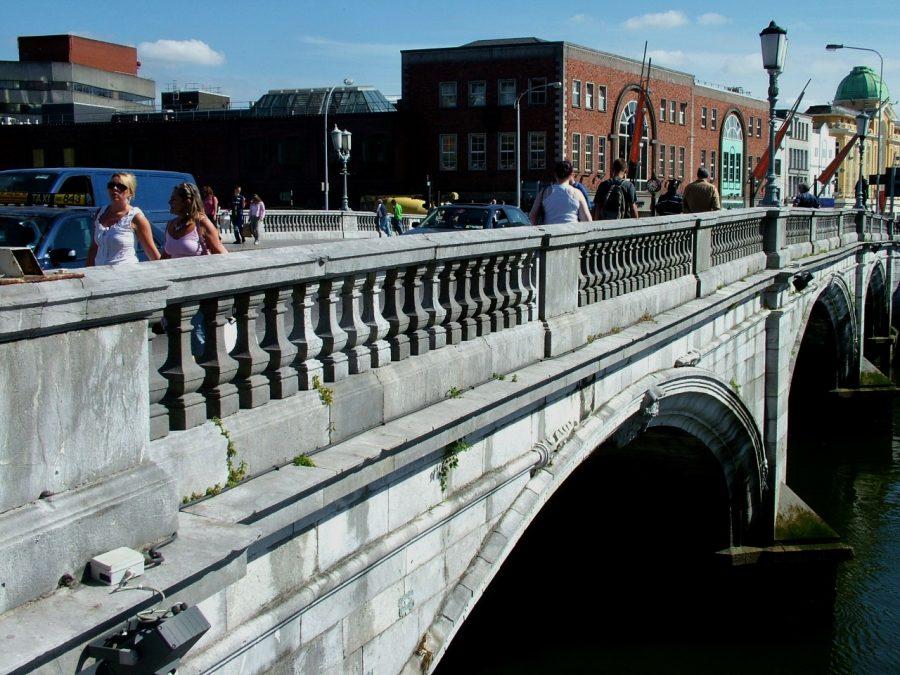 St Patrick's Bridge, Cork, present day, (picture: Cllr Kieran McCarthy)