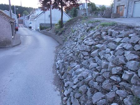 Convent Avenue Stone Wall, Blackrock, Present Day  (Kieran McCarthy)