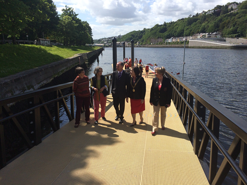 Opening Day, New pontoon for Lee Rowing Club, The Marina, Cork, 3 June 2015 (picture: Kieran McCarthy)