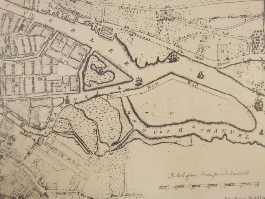 Cork South Docks, 1774 (source: Cork City Library)