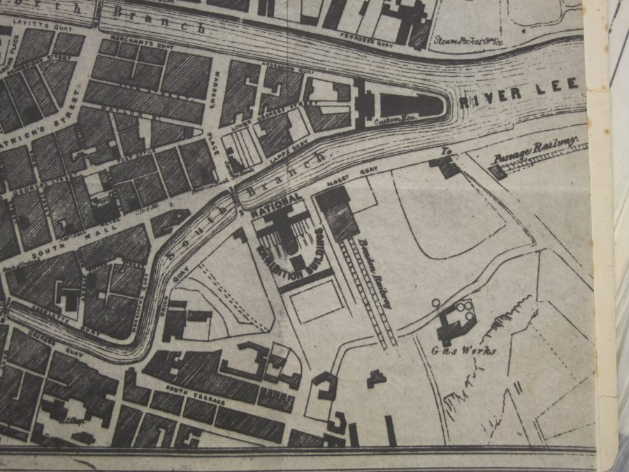 Map of Cork South Docks, 1852 (source: Cork City Library)