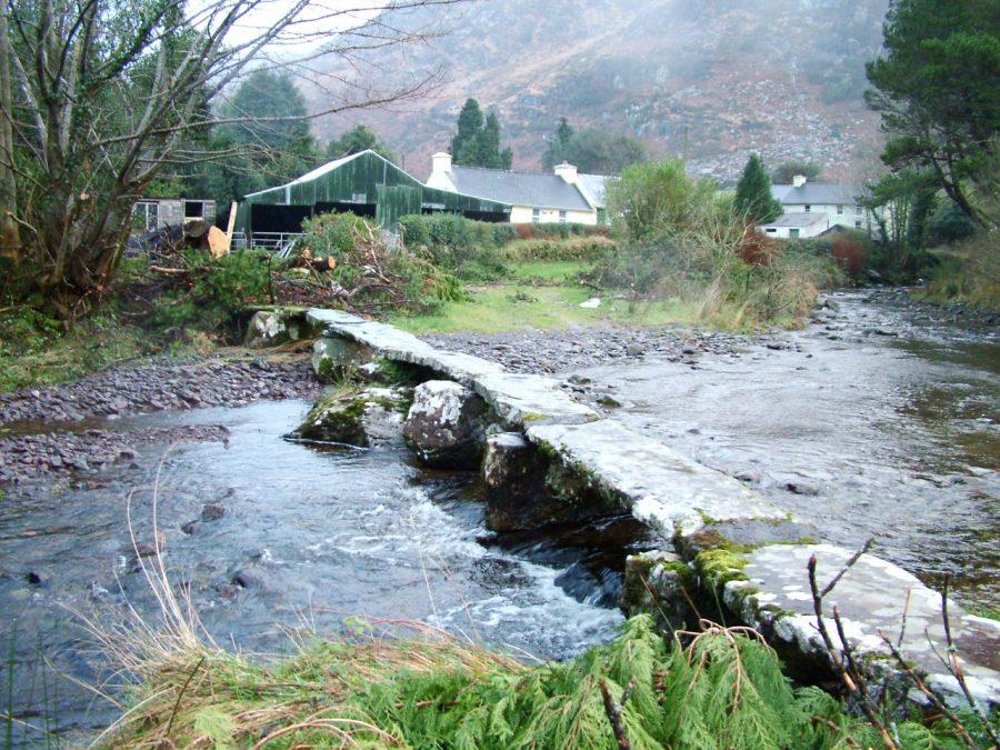 Rossaloughra Clapper Bridge & River Lee (picture: Kieran McCarthy)