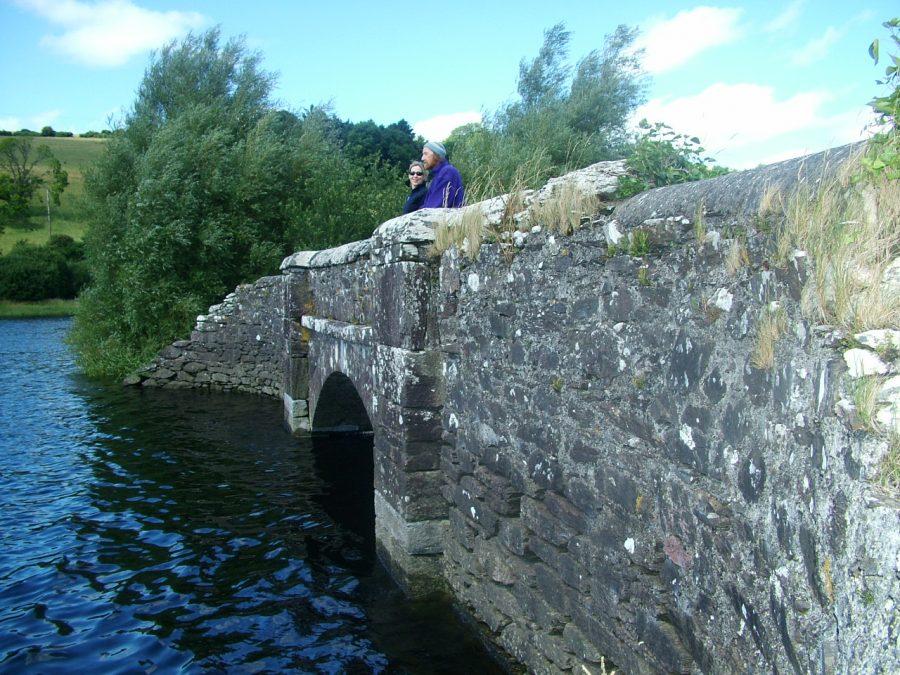 Former Annahala Bridge,  The Gearagh, Co. Cork (picture: Kieran McCarthy)