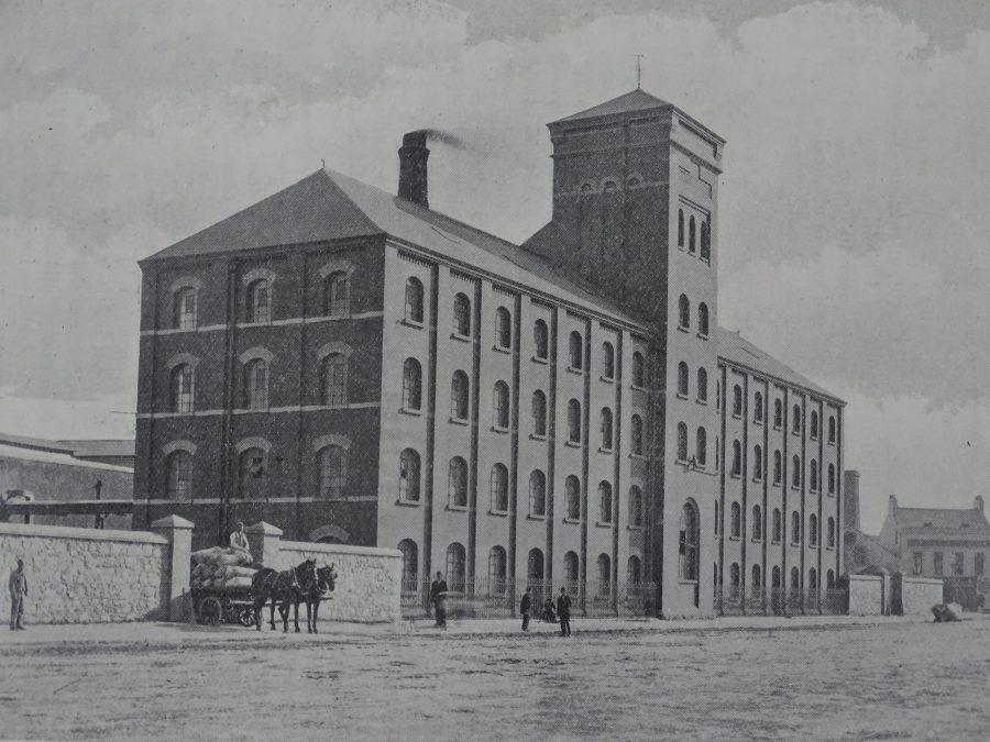 Cork National Flour Mills, c.1919 (source: Cork City Library)