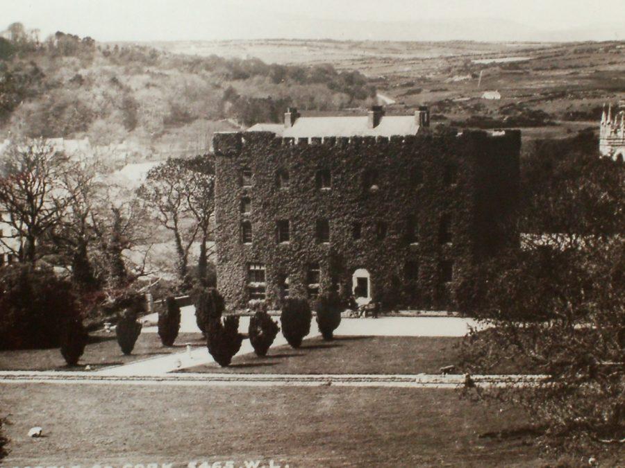 Macroom Castle, Co. Cork, c.1900 (source: Cork County Library)