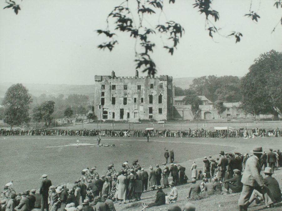 Macroom Castle, Co. Cork, c.1940 (source: Cork County Library)