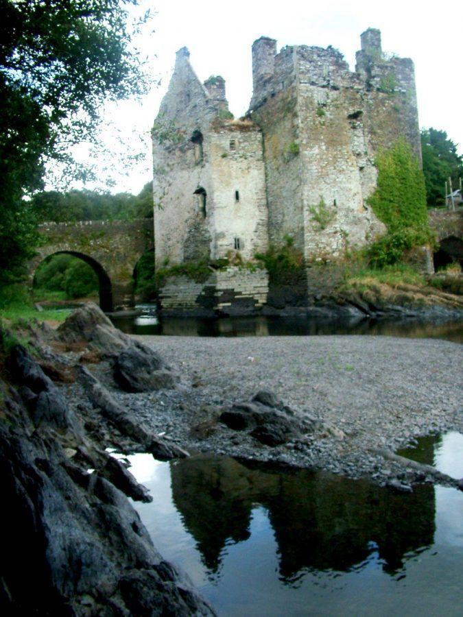 Carrigadrohid Castle, Co. Cork, present day (picture: Kieran McCarthy)