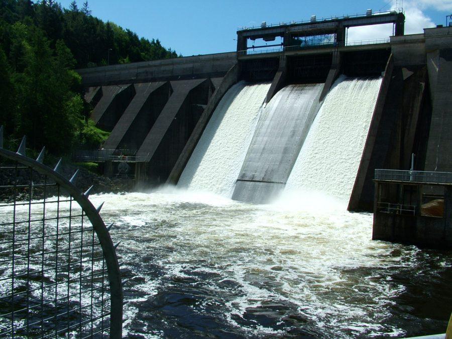 Inniscarra Dam, present day (picture: Kieran McCarthy)