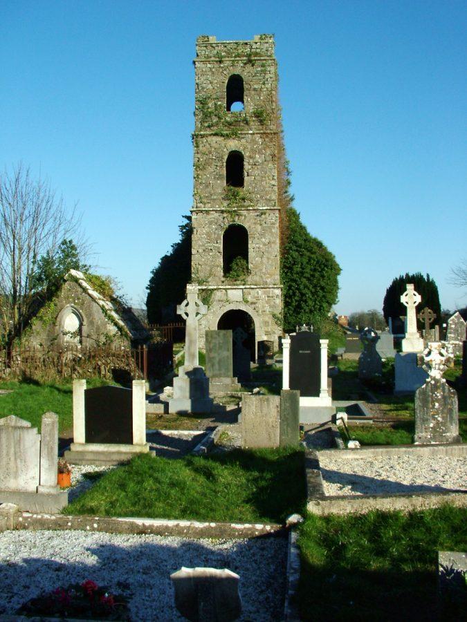 Ruined Church of Ireland, Inniscarra, present day (picture: Kieran McCarthy)